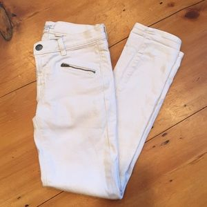 J Crew Cream Jeans