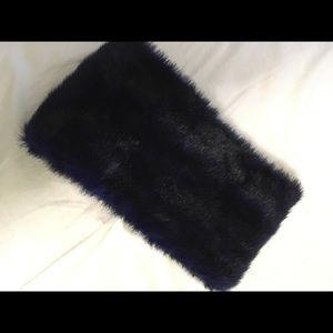 Nasty gal midnight blue faux fur scarf