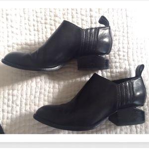 Alexander Wang black booties