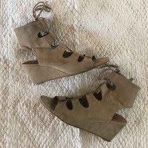 Dolce Vita wedge gladiator sandals!