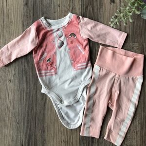 H&M Newborn Set; size 0 - 1m; Cotton 95%