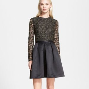 Ted Baker Freeya Lace Bodice Gold party dress!