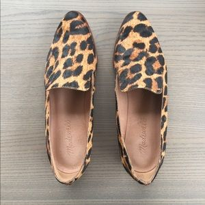 Faux fur loafer