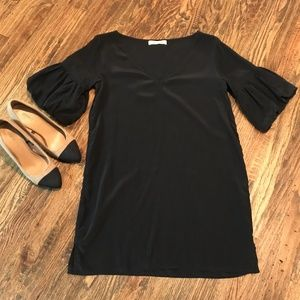 Geren Ford Black Silk Dress