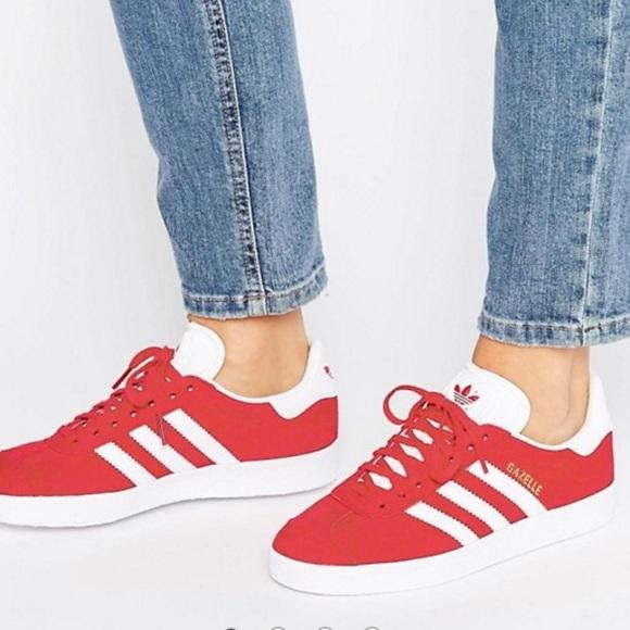 Le adidas red scamosciato gazzella Uomo misura 65 donne 8 poshmark
