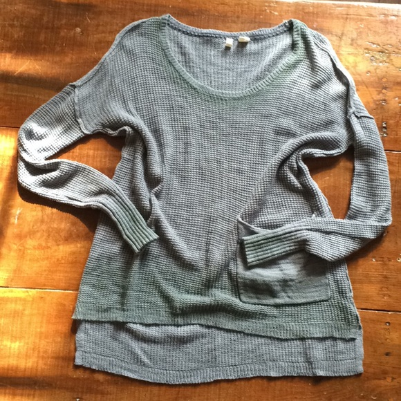 85% off Anthropologie Sweaters - Anthropologie Moth thermal light ...