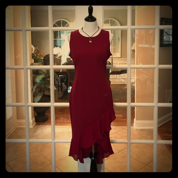 ef7b48c981d 5🌟Ivanka Trump Red Dress (Lady in Red)