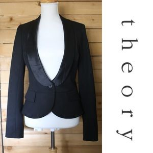 Theory Tuxedo Jacket - like new - sz M
