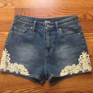 Urban Outfitters Highwaisted Denim Shorts