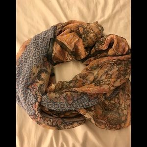 H&M multi color scarf