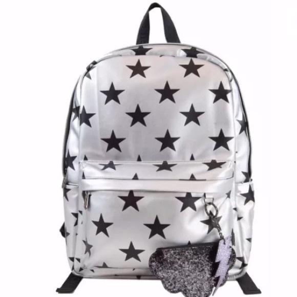 d8ec95bdcc5d Sam Edelman Star print backpack  limited edition
