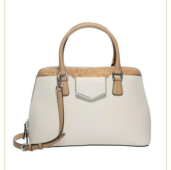 069653877 Calvin Klein Collection Bags | Sale Calvin Klein Cork Handbag | Poshmark