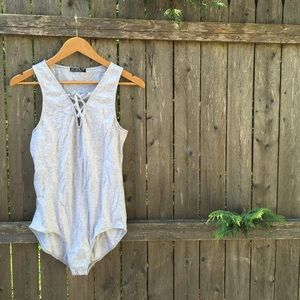 NEW Cotton On Laced Body Suit (2 Pack)