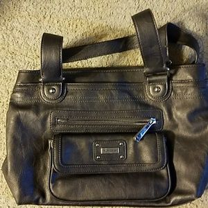 Grayish Shoulder Bag
