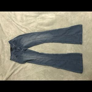 Blue flare Rue21 jeans