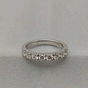 14kt White Gold Diamond Diamond Anniversary Ring