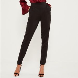 Missguided tall black cigarette pants