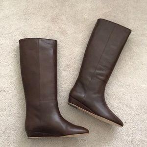 Loeffler Randall. Matilde Boot. Chestnut Vachetta.