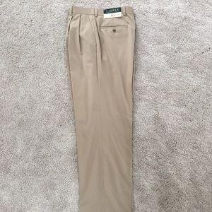 Lauren Ralph Lauren Taupe Dress Slacks 32x32 NWT