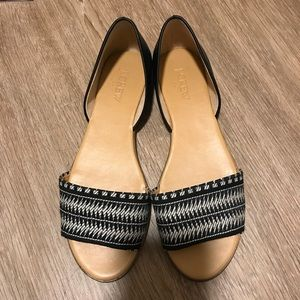 JCREW Woven Sandals (BRAND NEW)