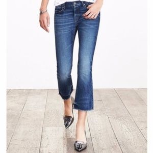 {Banana Republic} Cropped flare jeans size 25