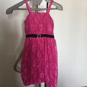 Sparkle pink cute dress