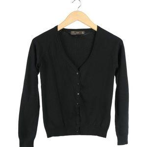 Zara Short Black Cardigan