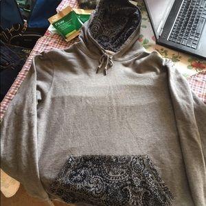 On the byas hoodie Sz Lg