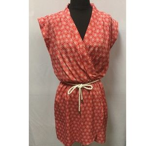 NWT Maison Jules medallion print dress size small