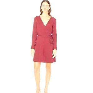 AMERICAN APPAREL WINE COLOR MARGOT DRESS MEDIUM
