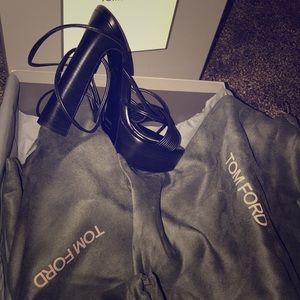 Brand new Tom Ford heels never worn.