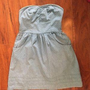 Mossimo Supply Co 100% cotton tube top dress