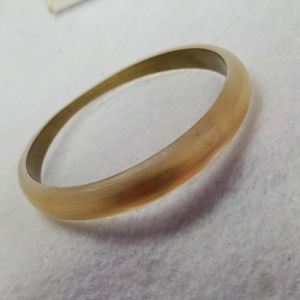 Alexis Bitter Tapered Bangle Bracelet Gold