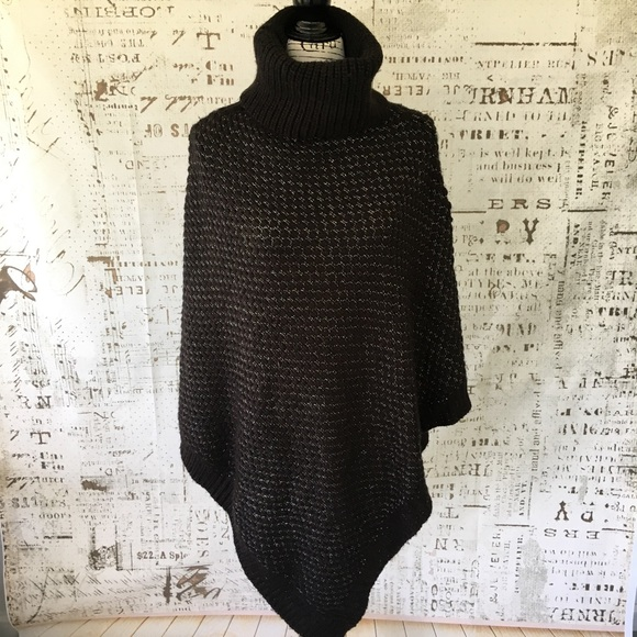 e5d57c85fd Calvin Klein Sweaters - Calvin Klein pullover turtleneck poncho ONE SIZE