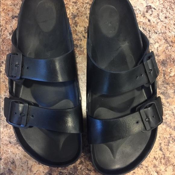 ae30d13a210 Birkenstock Shoes - Black Birkenstocks foam