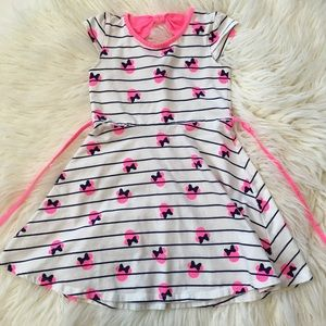 Minnie Mouse Striped Dress