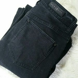 BURBERRY Bootcut Blangdon Stretch Jeans Size 28