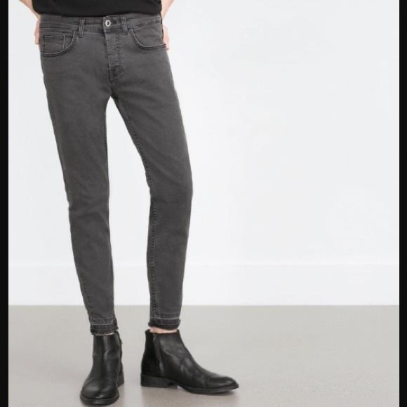 Zara Jeans Mens Gets Gray Skinny 31 Poshmark