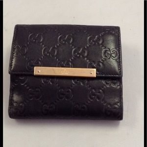 Authentic Gucci Leather Wallet