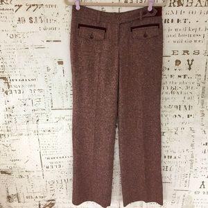 Elevenses {Anthropologie} wide leg trousers sz 4