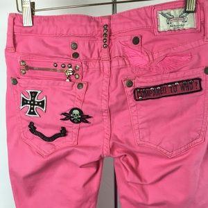 Robin's Jean pink Rock N Roll Jeans size 26