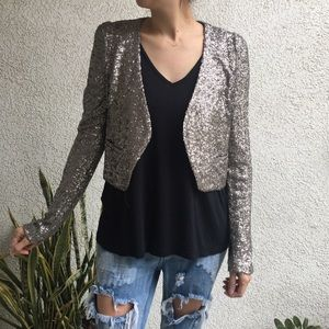Urban Outfitters Sequin Blazer