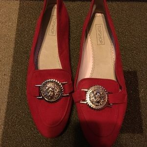 Topshop shoes (red)