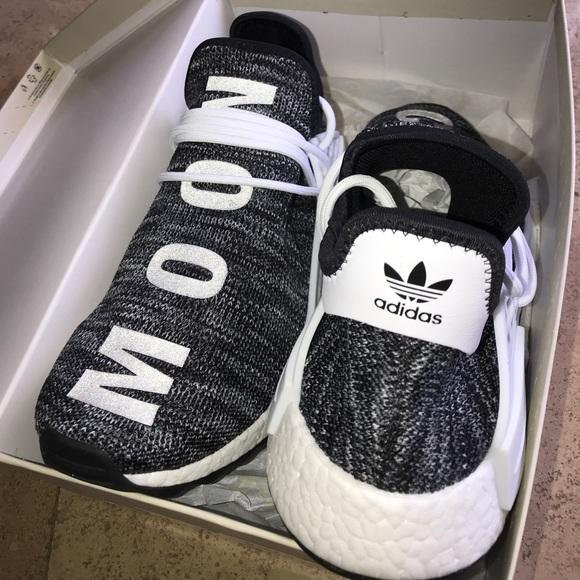 Adidas Nmd Human Race Tr Pw Black White Oreo