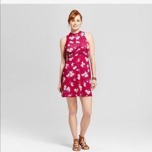 Xhileration Fit & Flare Boho Knit Dress