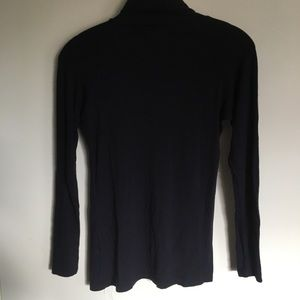 Zara Tops - Zara navy blue turtleneck
