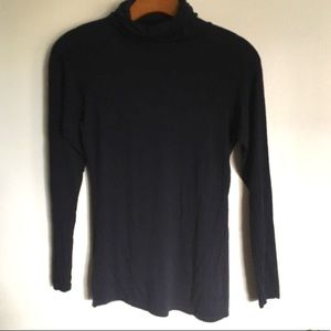 Zara navy blue turtleneck