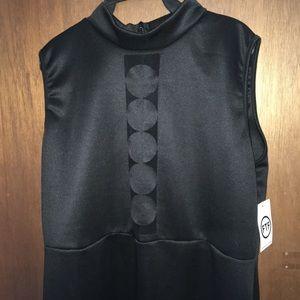 FTF mesh panel dress