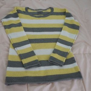 Women's Yellow Gap Striped Sweater on Poshmark