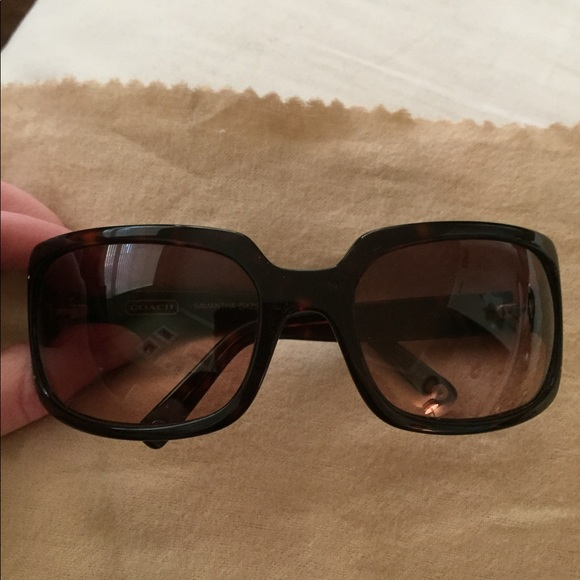 68920fcfc550 Coach Accessories | Sunglasses Samantha S425 Tortoise Brown | Poshmark
